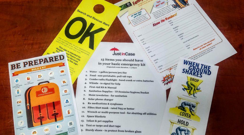 Sample emergency checklists